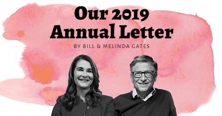 比爾蓋茲夫婦年度公開信揭9大體悟:廁所、教科書都需要改變!