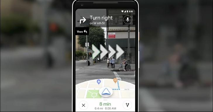 Google AR導航技術探究,如何透過影像協助GPS進行定位