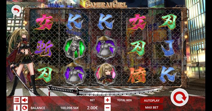 遊戲開發商Ganapati PLC與日本線上遊戲公司Chariloto合作首款線上遊戲Samurai Girl上線了