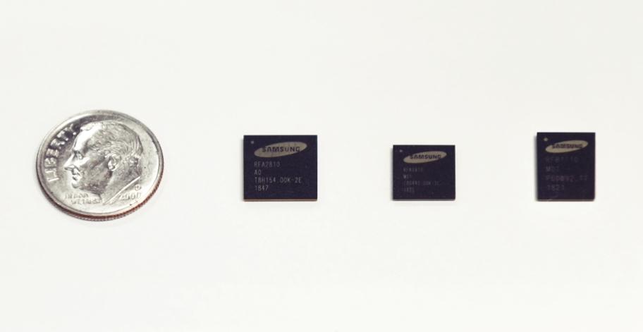 三星於 MWC 2019 展示用於 5G 基地台的新世代 RF 晶片組