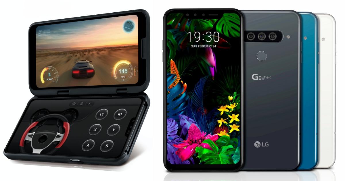 LG 推出 G8 / G8s 還有支援 5G 網路的 V50 ThinQ 新機