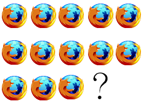 2012年6月,Mozilla 賞你 Firefox 13