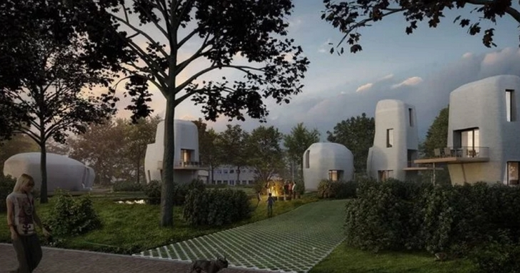3D列印房屋不稀奇,第一個3D列印社區即將要落成