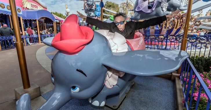 當了28年粉絲,柯林法洛《小飛象》終圓夢與提姆波頓合作