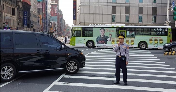 北市58路口今起執法「車輛進斑馬線3公尺內不能有行人」,最高開罰3600元!