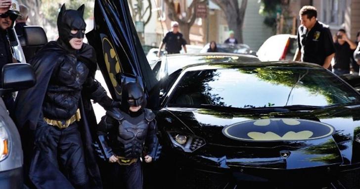 舊金山為了這個小蝙蝠俠當了一天的哥譚市,如今他克服了白血病
