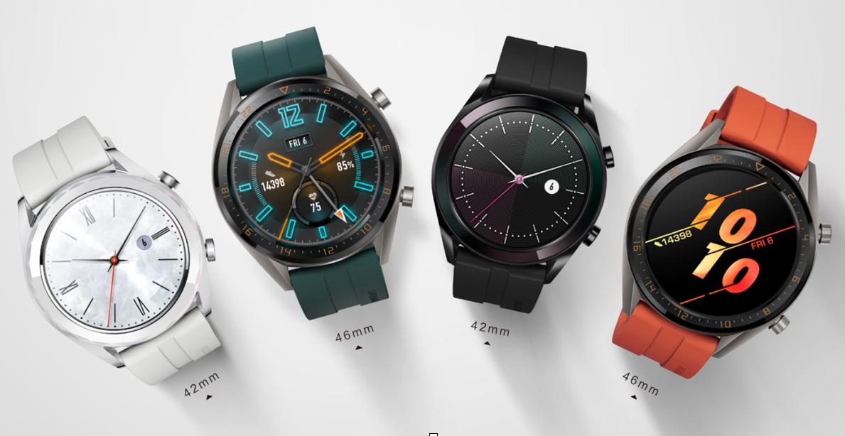 華為 Watch GT 添新款,活力款 / 雅緻款更多彩、更適合女性