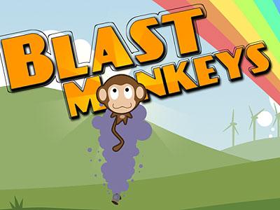 Android Market:可愛物理小遊戲 Blast Monkeys