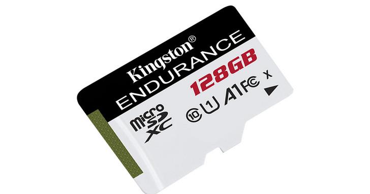 Kingston推出全新High Endurance高耐用度microSD記憶卡