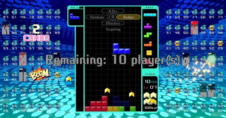 一款不血腥、不靠運氣、絕對公平,但卻讓人愛不釋手的大逃殺遊戲:《Tetris 99》