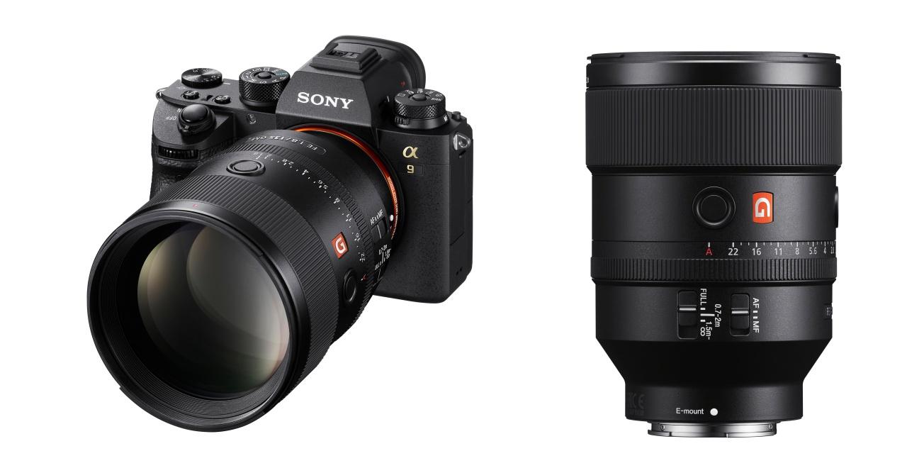 GM 系列高階定焦鏡 Sony FE 135mm F1.8 GM 上市售價 52,980 元
