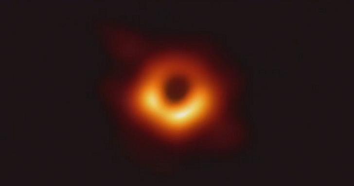 這就是史上首張黑洞照片