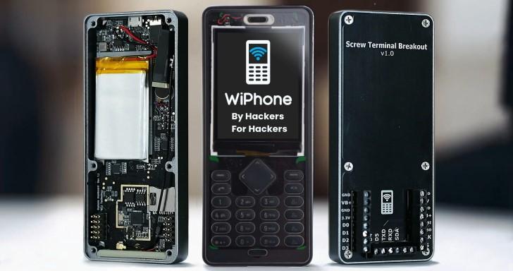 由駭客開發、為駭客設計的手機 WiPhone ,不但能土砲客製還能當開發板使用