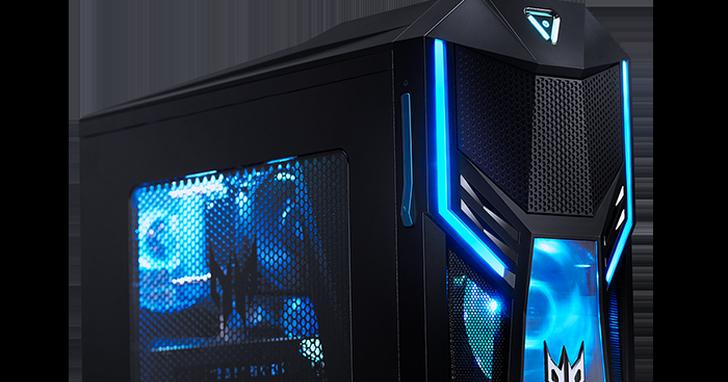 宏碁推出全新Predator掠奪者 Orion 5000電競桌機、43吋Predator大型電競螢幕及新款電競周邊