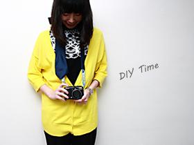 窮人DIY:把領帶改成獨一無二的相機背帶