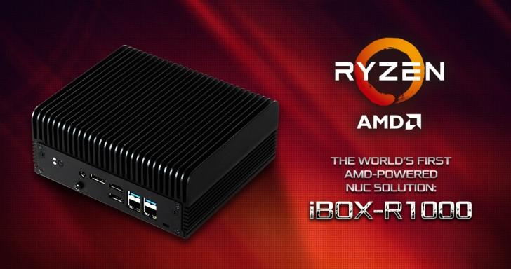 ASRock發表AMD版NUC迷你電腦,iBOX-R1000採用最新Ryzen Embedded R1000系列處理器