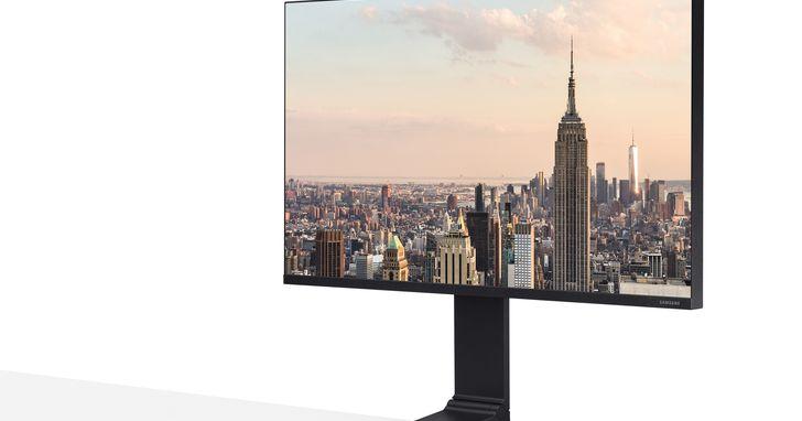 釋放40%桌面使用空間,三星Space Monitor多段式螢幕上市