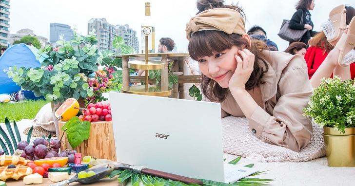Acer new Swift 7 登台預購,展現 890 克輕盈、近無邊框的美型設計