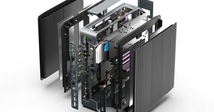Core i9-9900K 無風扇被動散熱?Airtop3 還有 TDP 160W 顯示卡支援能力!