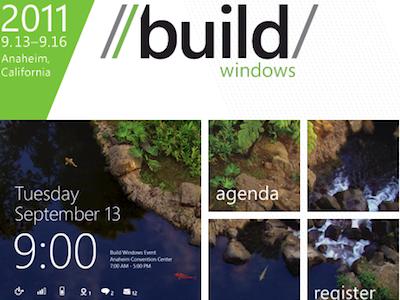 Build Windows 2011 轉播看這裡,Windows 8 完整大揭密
