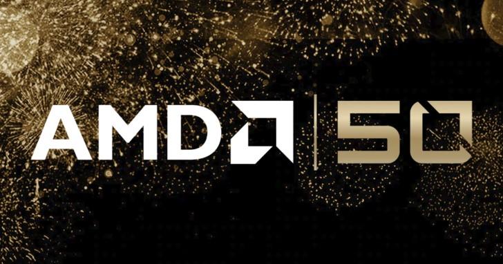 AMD 50 歲了,推出 Ryzen 7 2700X 與 Radeon VII 黃金版!部分產品也可以免費拿 2 套遊戲