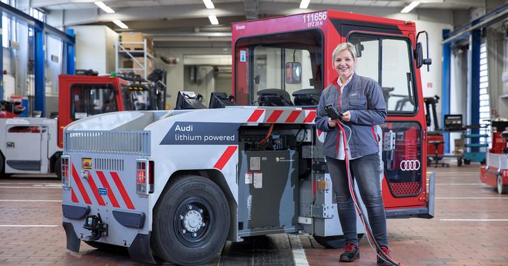 Audi回收電動車鋰離子電池導入再生計畫