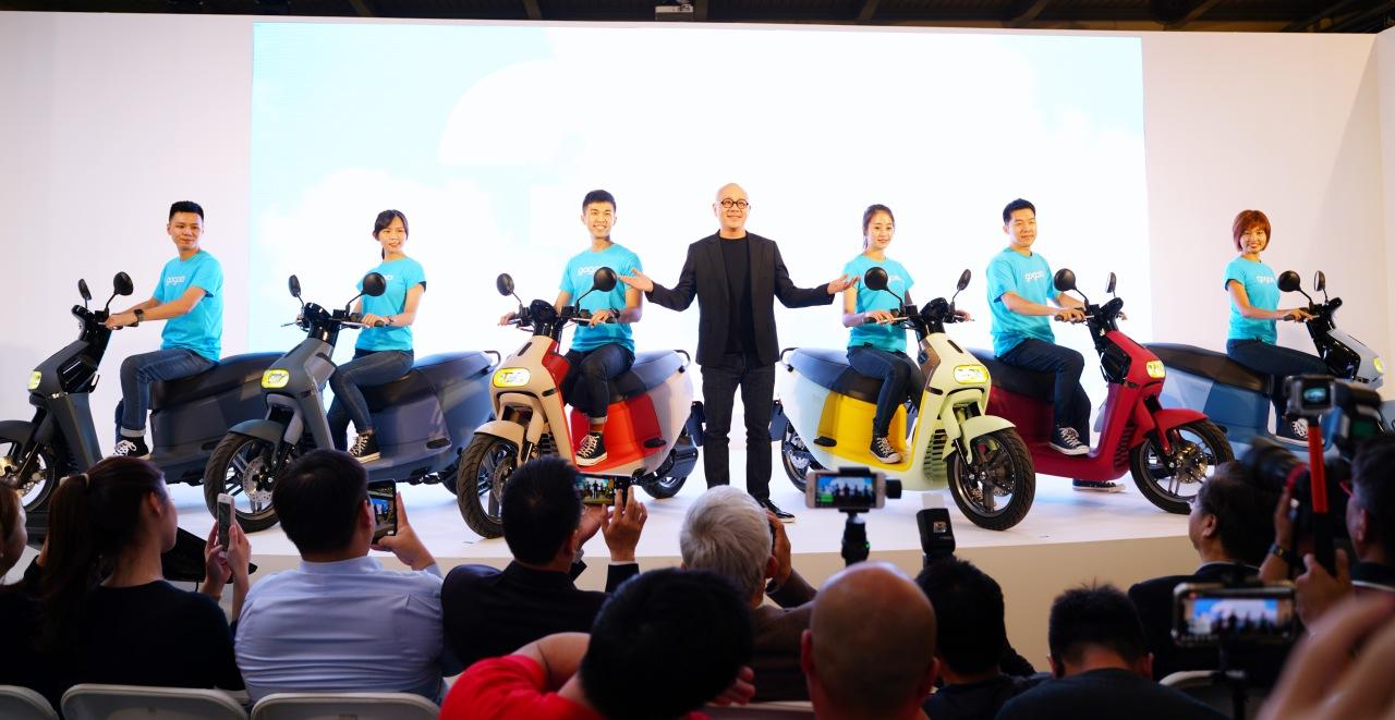 打造國民電動車,全車不烤漆、環保材質的「Gogoro 3」平價發表,補助後價格台幣35,980元起