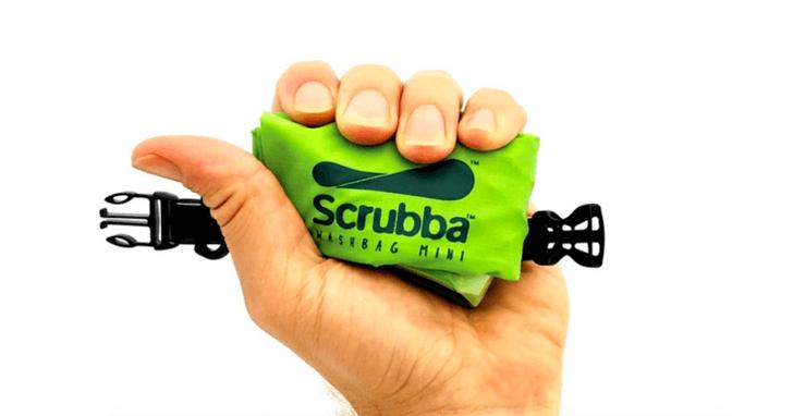 這款比手掌還小的洗衣機,能讓你隨身帶去旅行