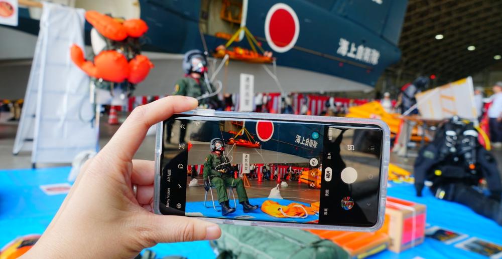 手機打戰機!三星 Galaxy S10+ 駐日美軍基地實戰體驗