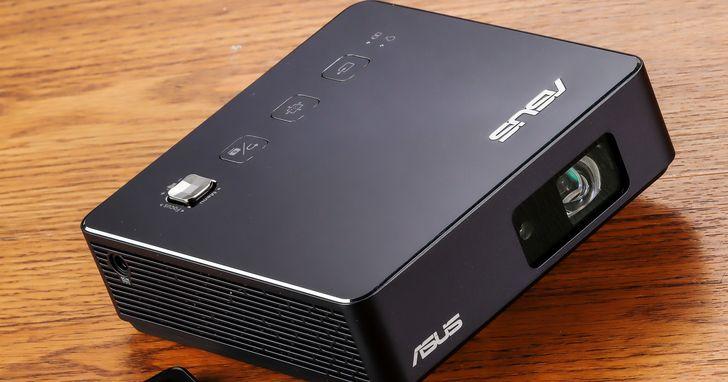 Asus ZenBeam S2:可無線投影的微投影機,分享畫面更便利