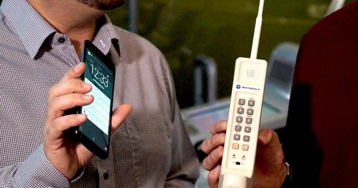 通訊革命不只改變速度,還改變著手機的天線和形態