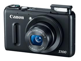 Canon PowerShot S100 登場:5x光學、24mm廣角外加 GPS