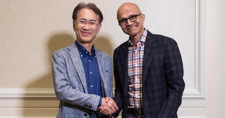 微軟和索尼化敵為友,針對雲端串流遊戲和AI結盟以對抗Google