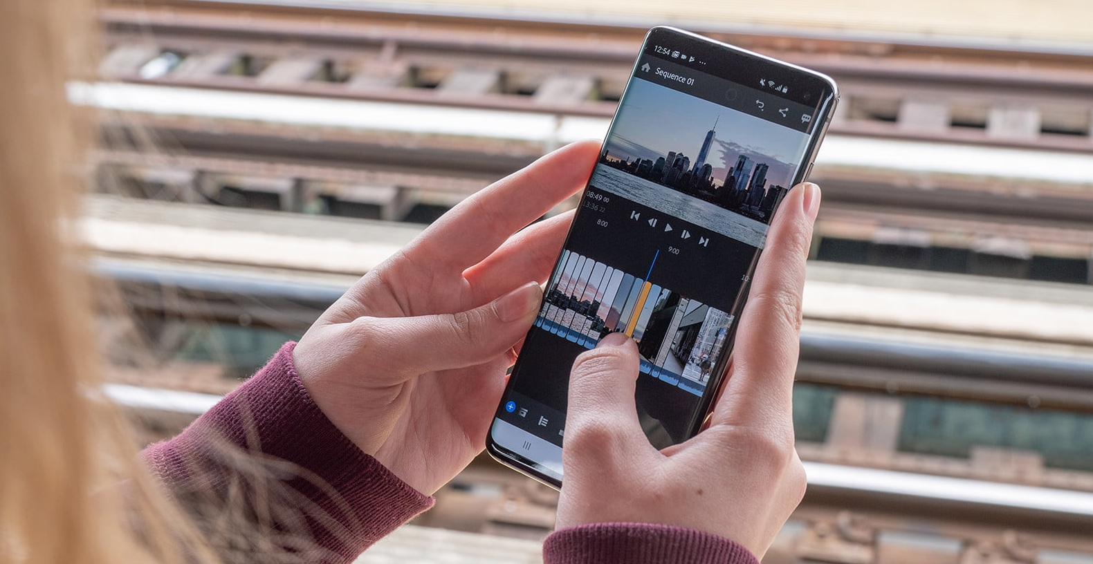 Android 版的 Premiere 影片剪輯 app 登場,內建簡單色彩調整、雜音消除、客製化動態圖樣