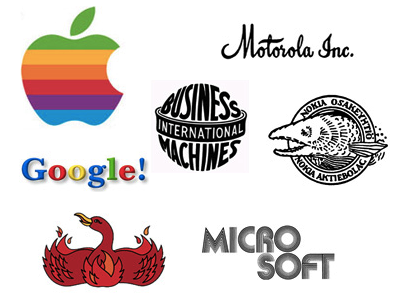 Apple、Google 入列,7大科技品牌 Logo 的過去與未來