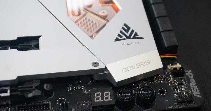 Computex 2019:限量999張!ASRock發表X570 Auqa水冷主機板