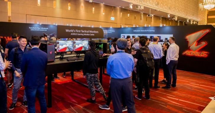 Computex 2019:GIGABYTE AORUS 戰術電競螢幕擴編,真.16 相 AMD X570 主機板與 PCIe 4.0 SSD