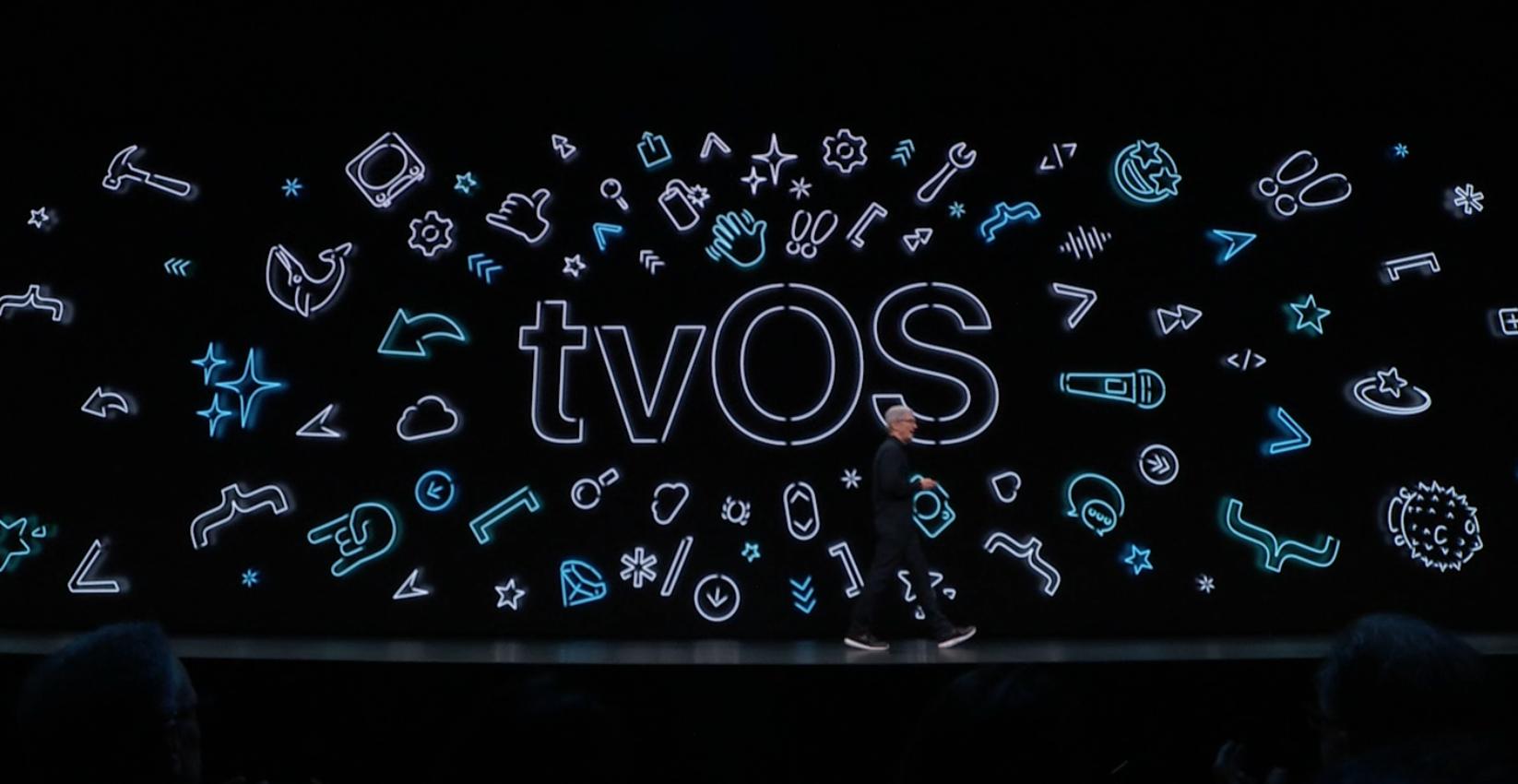 WWDC2019:tvOS 更新後可以用 XBOX 和 PS4 手把控制 Apple TV 了!