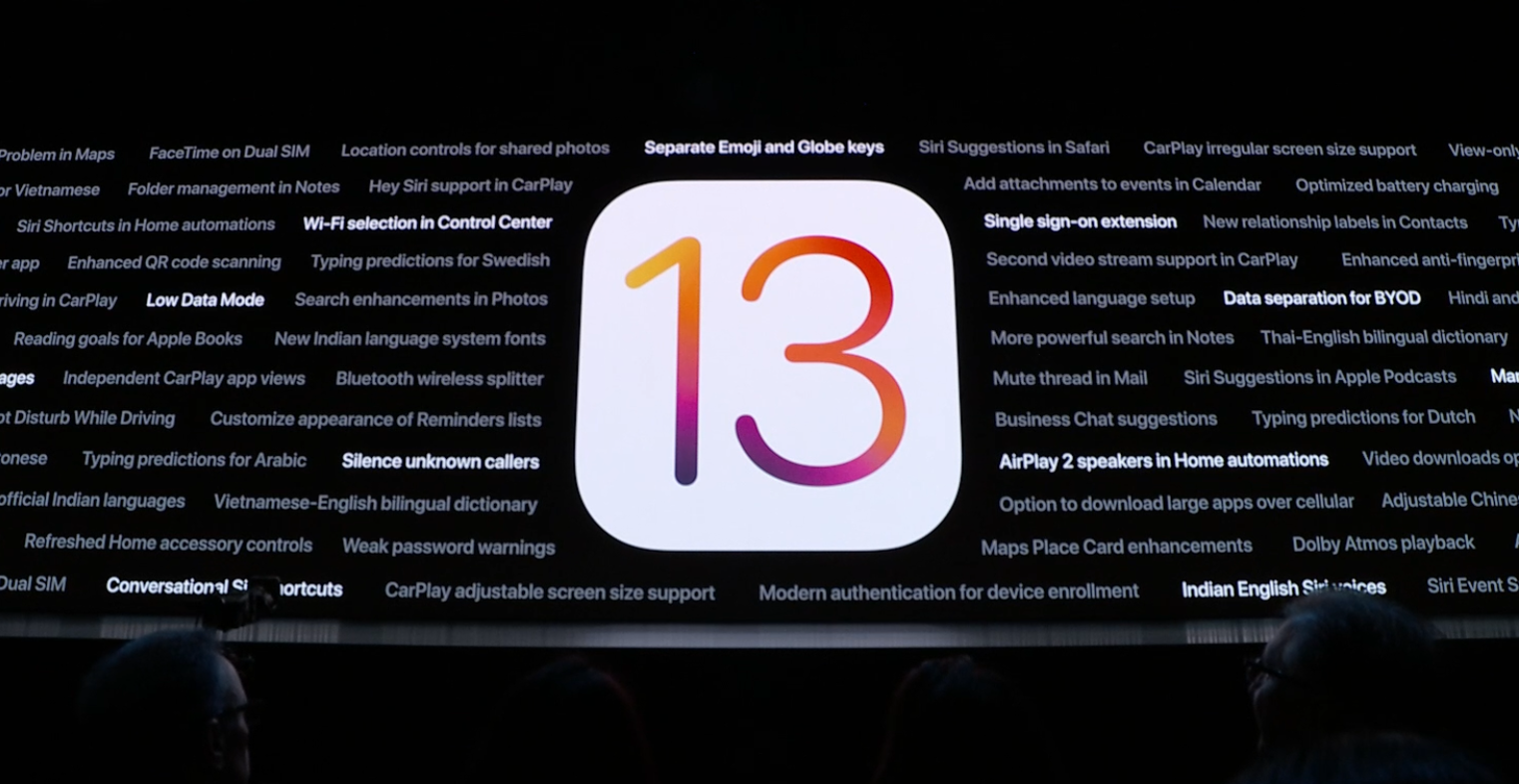 iOS 13 終於新增黑暗模式,也多了新的照片和影片編輯工具