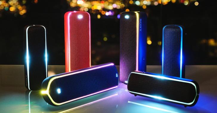 Sony無線藍牙喇叭SRS-XB22、SRS-XB32重低音強力來襲