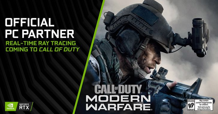 《決勝時刻:現代戰爭》PC 版與NVIDIA合作,將支援DirectX光線追蹤
