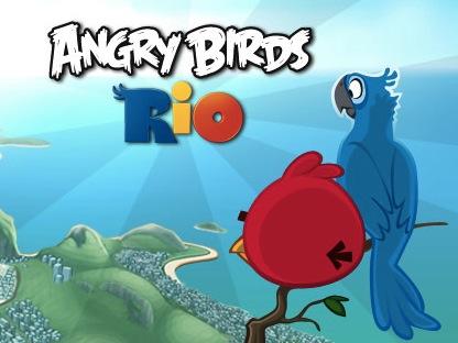 限時免費 PC 版 Angry Birds Rio,Intel AppUp 送給你