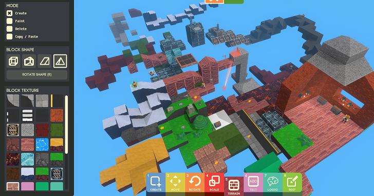 Google 在 Steam 上推出「Game Builder」,即便沒程式編寫經驗也能打造遊戲