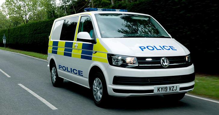 這就是 VWCV 推出的警用囚車,希望你永遠不要有機會「試乘」