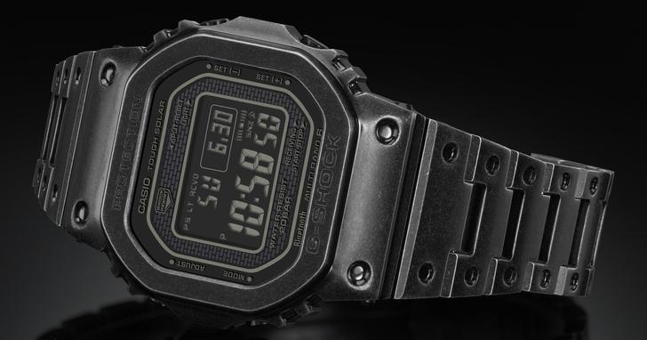 G-SHOCK 全金屬 GMW-B5000 系列首次推出仿舊復刻版,全球限量 1000 隻,台灣本週六正式開賣