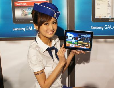 Samsung 平板第三發:Galaxy Tab 8.9 上市