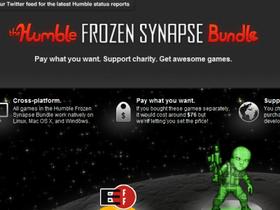 買遊戲隨便出價又來了,推出 Humble Frozen Synapse Bundle