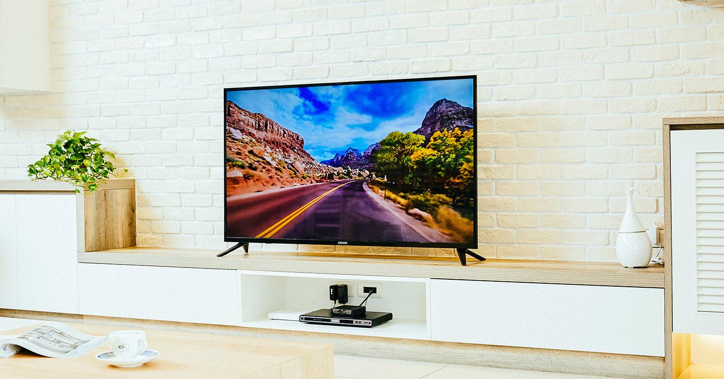 CHIMEI 大 4K HDR 液晶顯示器 TL-55M300,美麗視野,無限展開