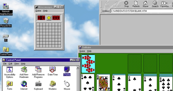 Windows 95 的都市傳說獲得證實,亂動滑鼠確實能讓系統加速!