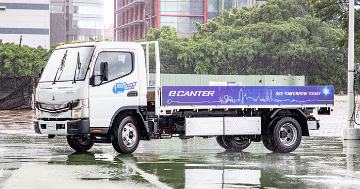 FUSO eCanter 純電動卡車登台,因國內基礎設施缺乏將不會上市